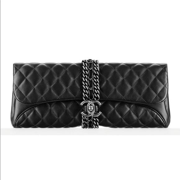a8f1053a38ef CHANEL Handbags - Chanel authentic Evening clutch chain bag